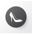 woman shoe icon symbol premium quality isolated vector image