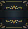 abstract luxury background ornament elegant vector image