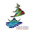 Sail Ship Logo5 vector image