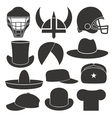 Headdress Hat Personal Accessory vector image