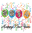 2014 Happy New Year vector image