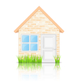 Brick House vector image