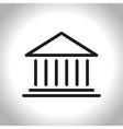 icon bank vector image