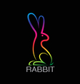 image of an rabbit design vector image