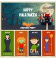 Halloween Concept Set vector image
