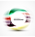 abstract blurred swirl vector image
