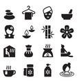 spa beauty healthy massage icons set 2 vector image