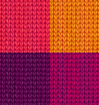 set of colourful stockinette stitch textures vector image