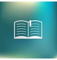 open book Education sign symbol icon book with a vector image