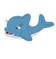 A big happy Dolphin vector image