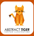 abstract animal design vector image