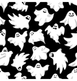 Gosts helloween background Spookys holiday vector image