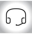 icon call center vector image
