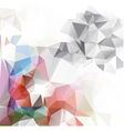 polygonal mosaic background Business design vector image