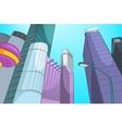 City Cartoon vector image vector image