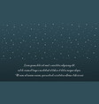 background style star on the sky vector image