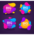 big sale bubbles vector image