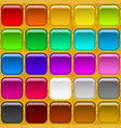 square buttons seamless vector image