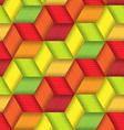 Bright Plastic Basketwork vector image