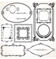 Design Borders and Frames vector image