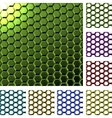 Abstract cell background vector image