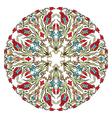 Antique ottoman turkish pattern design nine vector image