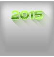 2015 long shadow green vector image vector image