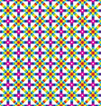 Abstract geometric colorful seamless pattern Over vector image