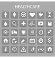 flat icons set and graphic design elements vector image