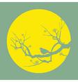 bird silhouette vector image