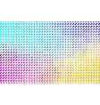 Colorful mosaic texture - Rainbow colors vector image