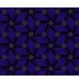 Dark Plastic Basketwork vector image