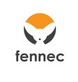 Fennec fox icon vector image