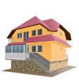 floor house vector image vector image