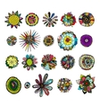 Flowers collection sketch for your design vector image vector image