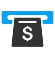 Payment Slot Flat Icon vector image