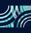 Abstract wavy lines and circles background vector image
