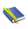Schoolbook icon vector image vector image
