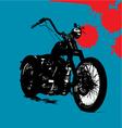 motorbike background vector image vector image