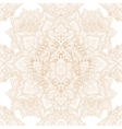 Beautiful ethnic floral paisley seamless ornament vector image