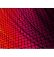 Red rays light 3D mosaic EPS 8 vector image vector image