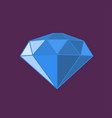 modern diamond icon vector image