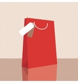 one classic shopping bag vector image