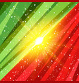 abstract shape christmas holidays and xmas vector image