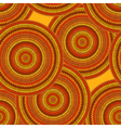 Seamless Ethnic Geometric Knitted Pattern vector image