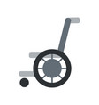 Trauma accident wheelchair safety vector image