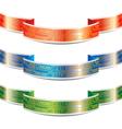 Ribbon with PCB EPS10 vector image