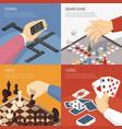 board games design concept vector image