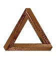 Fantastic triangle vector image