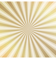 Gold rays metal background vector image